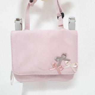 TOCCA - 【新品】リボンポケットポーチ TOCCA BAMBINI ピンク
