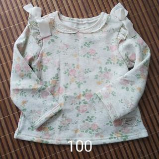ビケット(Biquette)のBiquette 裏起毛トレーナー 100(Tシャツ/カットソー)