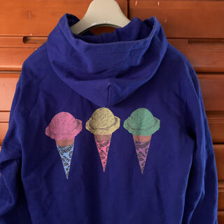 ビリオネアボーイズクラブ(BBC)のビリオネアボーイズクラブ アイスクリームダブルパーカー  (パーカー)