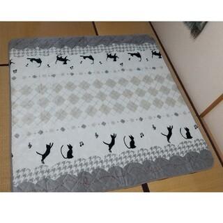 値下げ【新品】マルチカバー正方形 190 x 190㎝ フランネル生地