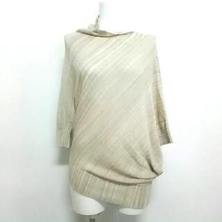 ビアズリー(BEARDSLEY)のビアズリー 半袖セーター サイズF美品 (ニット/セーター)