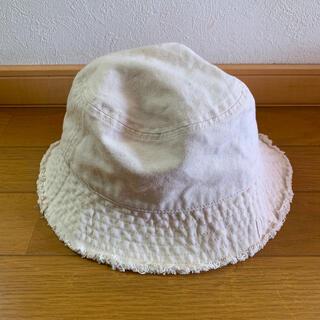 エイチアンドエム(H&M)のホワイト バケット ハット(ハット)