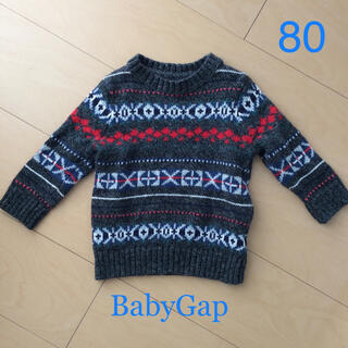 ギャップ(GAP)のニット セーター BabyGap  80(ニット/セーター)