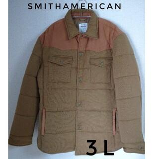 スミス(SMITH)のスミスアメリカン  ジャケット  アウター  ダウン  3L  大きいサイズ(ダウンジャケット)