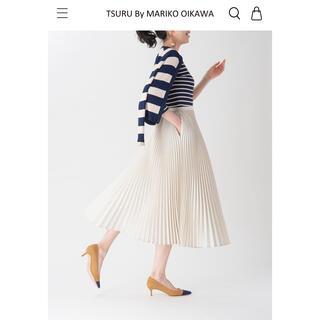ツルバイマリコオイカワ(TSURU by Mariko Oikawa)のtsurubymarikooikawa【新品】定番スカートAlina♡(ロングスカート)