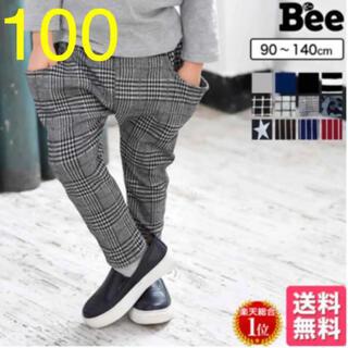 マーキーズ(MARKEY'S)の☆BEE サルエルパンツ グレンチェック 100  ズボン(パンツ/スパッツ)