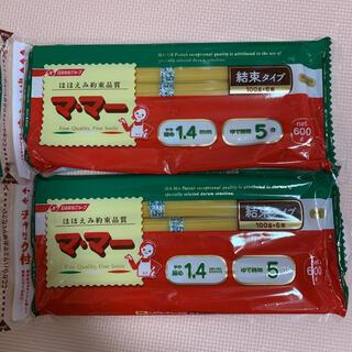 ニッシンセイフン(日清製粉)のママー パスタ スパゲッティ 600g2袋 1200g(麺類)