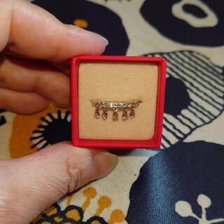 ダイヤモンド シャンデリアリング(リング(指輪))