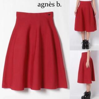 アニエスベー(agnes b.)のアニエスベー フレア膝丈スカート(ひざ丈スカート)