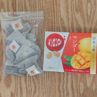 ネスレ(Nestle)のキットカットと紅茶セット(菓子/デザート)