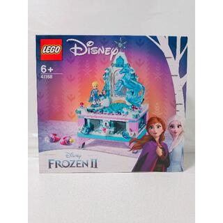 レゴ(Lego)の新品 レゴ プリンセス アナと雪の女王2 エルサのジュエリーボックス 41168(その他)