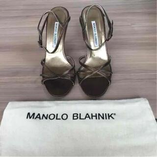 マノロブラニク(MANOLO BLAHNIK)のマノロブラニク(ハイヒール/パンプス)