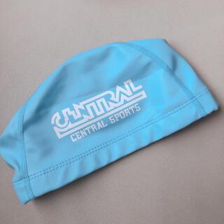 セントラル 水泳 帽子 水色 Mサイズ