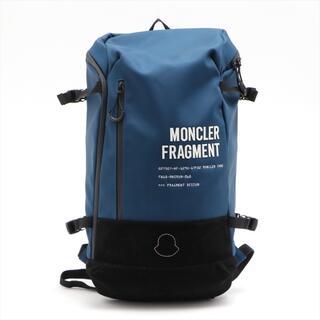 モンクレール(MONCLER)のモンクレール  ナイロン  ブルー メンズ リュック・デイパック(バッグパック/リュック)