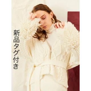 新品タグ付き ELENDEEK ARRANGE CABLE CD(カーディガン)