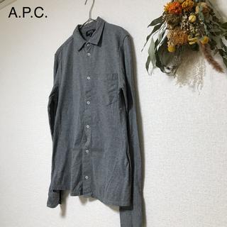 アーペーセー(A.P.C)の【APC】 コットンシャツ TS-16(シャツ)