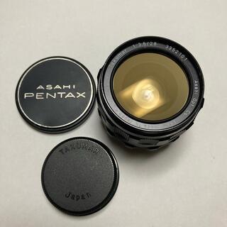 ペンタックス(PENTAX)の美品 Super-Takumar 28mm F3.5 前後CAP付 タクマー(レンズ(単焦点))