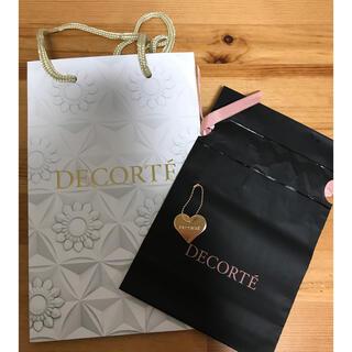 コスメデコルテ(COSME DECORTE)のdécolleté  ショップ袋 チャーム付き(ショップ袋)