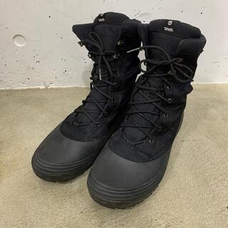 テバ(Teva)の(値下)テバ スノーブーツ Teva BORMIO RIPSTOP 黒 27cm(長靴/レインシューズ)