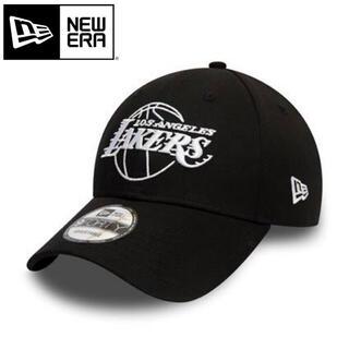 ニューエラー(NEW ERA)のニューエラ キャップ 黒 ロサンゼルス レイカーズ  アウトライン ブラック(キャップ)