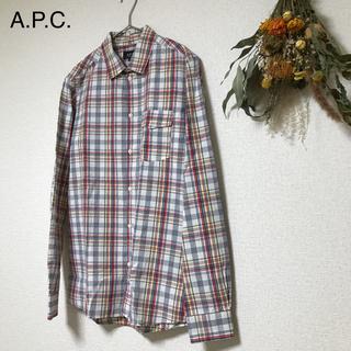 アーペーセー(A.P.C)の【APC】 チェックシャツ TS-13(シャツ)