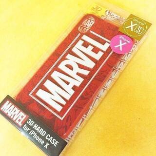 マーベル(MARVEL)のMARVEL iPhoneX/Xs 兼用 スマホケース MV93A(iPhoneケース)