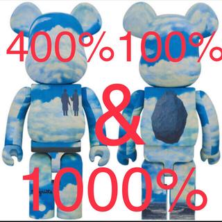 メディコムトイ(MEDICOM TOY)のBE@RBRICK Rene Magritte 1000% 400%100%(その他)