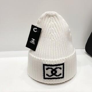 シャネル(CHANEL)のCHA   ニット帽(ニット帽/ビーニー)