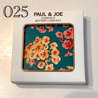 ポールアンドジョー(PAUL & JOE)の★限定品★ポール&ジョー コンパクト 025(チーク)