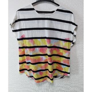 グラニフ(Design Tshirts Store graniph)のグラニフ 半袖Tシャツ ボーダー フリーサイズ(Tシャツ/カットソー(半袖/袖なし))