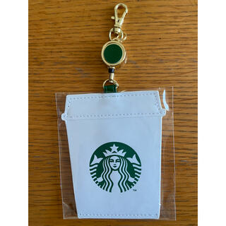 スターバックスコーヒー(Starbucks Coffee)のスターバックス パスケース 新品(名刺入れ/定期入れ)