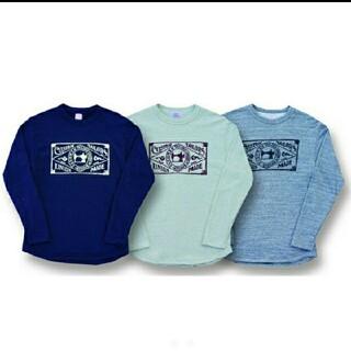 トイズマッコイ(TOYS McCOY)の【クッシュマン】長袖Tシャツ !ミニパイルスウェット L/S新品/完売ネイビー(Tシャツ/カットソー(七分/長袖))