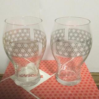 カゴメ(KAGOME)のペアグラス(トマトジュース専用)(グラス/カップ)
