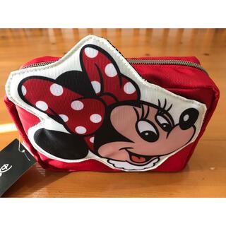 ミニーマウス(ミニーマウス)のディズニー ミニー スクエアポーチ 大容量 入荷しました 化粧品入れ(ポーチ)