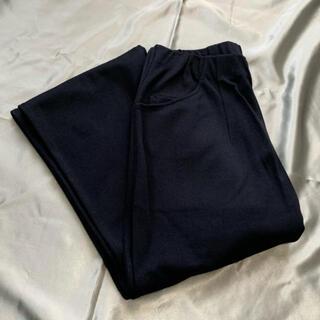 シャルレ(シャルレ)のシャルレ EK026(ボドムパンツ) ブラック (M) (カジュアルパンツ)