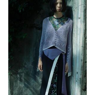マメ(mame)のmame kurogouchi スカート 刺繍 サイズ1(ロングスカート)