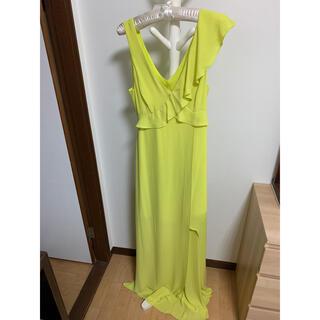 BCBGMAXAZRIA - BCBG ロングドレス ナイトドレス イエロー キャバ嬢 リゾート