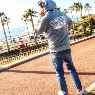 デウスエクスマキナ(Deus ex Machina)の西海岸ファッション☆ LUSSO SURF カリフォルニアパーカー Mサイズ(パーカー)