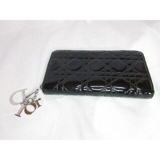 クリスチャンディオール(Christian Dior)のChristian Dior クリスチャンディオール ラウンドファスナー長財布 (財布)