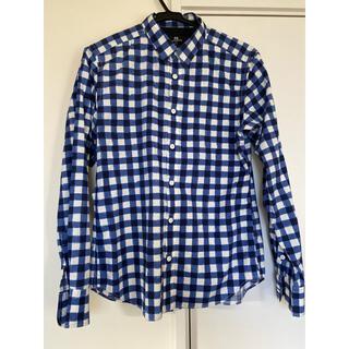 フレディアンドグロスター(FREDY & GLOSTER)のブルーチェックシャツ(シャツ)