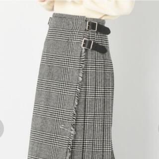 オニール(O'NEILL)の【別注新品】O'NEIL of DUBLIN ヘビーツイードキルトスカート 8(ひざ丈スカート)
