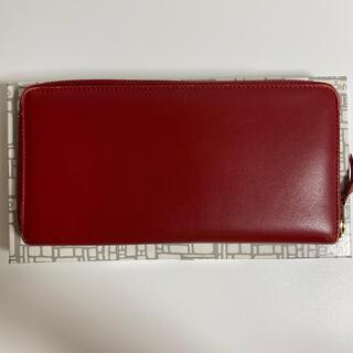 コムデギャルソン(COMME des GARCONS)のCOMME des GARÇONS  長財布 レッド(財布)