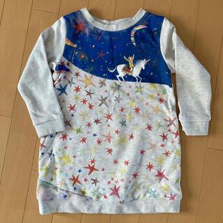 グラニフ(Design Tshirts Store graniph)のワンピース 110cm(ワンピース)