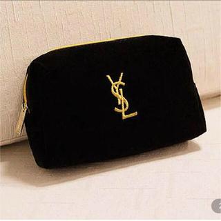 Yves Saint Laurent Beaute - 新品未開封 イブサンローラン YSL ベロアポーチ