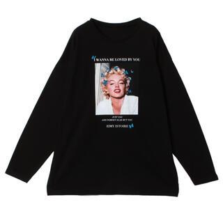 エイミーイストワール(eimy istoire)のMarilyn Monroe バタフライロンT(Tシャツ(長袖/七分))