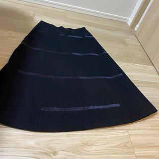 ジルサンダー(Jil Sander)のちぃちゃんくら様専用!フェンディブローチとジルサンダー34サイズのウールスカート(ロングスカート)