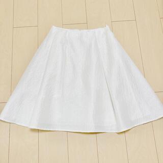 ルネ(René)のルネ Rene  シルク織フレアスカート36 ハロッズアナイフォクシー(ひざ丈スカート)