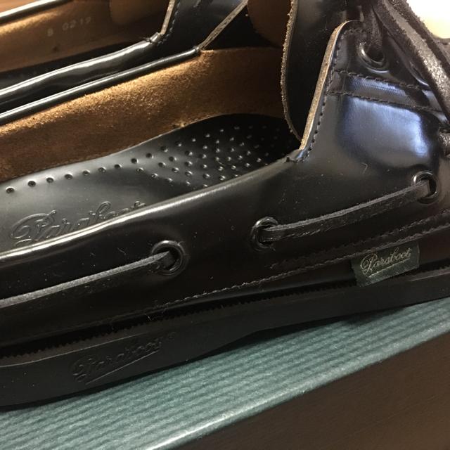 barbade marine UA別注 パラブーツ 新品 メンズの靴/シューズ(スリッポン/モカシン)の商品写真