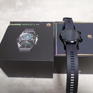 アンドロイド(ANDROID)のhuawei watch gt2 46mm sports(腕時計(デジタル))