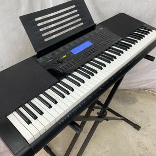 CASIO - カシオ 76鍵盤電子キーボード WK-245 スタンド付